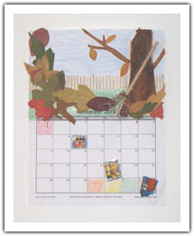 Decorated Calendar 01